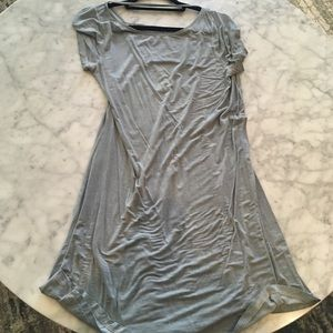 Gray loose fitted dress